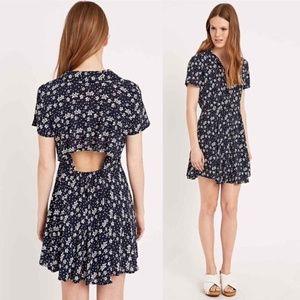 Kimchi Blue Fairuza Floral Shirt Dress